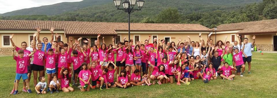 II Campamento de atletismo del CDA Tarancón, excelente convivencia con el deporte como protagonista